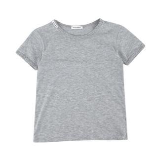Dolce & Gabbana Grey Cotton T-shirt