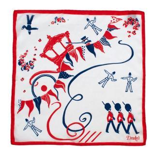 Drakes Royal Guards Handkerchief
