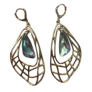 Jenny Packham Crystal Butterfly Earrings