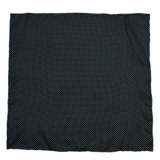 Hardy Amies Green Polka Dot Silk Handkerchief