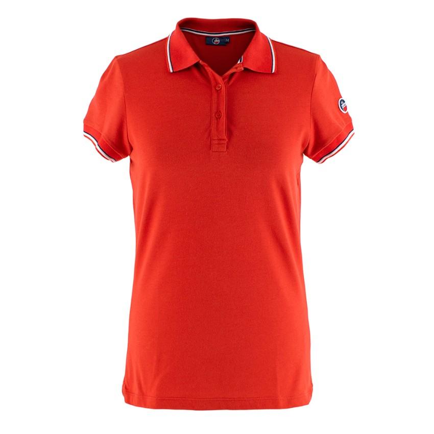 Fusalp Red Polo Shirt