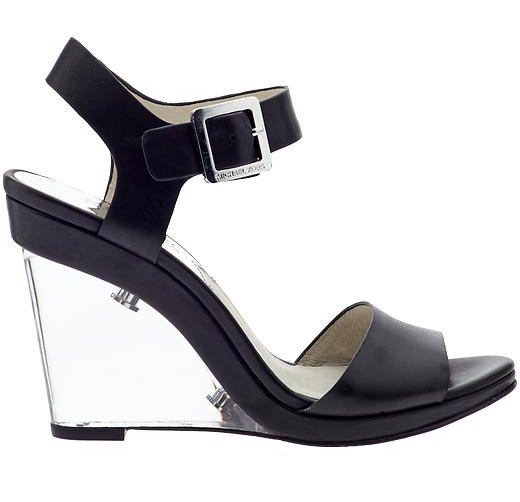 Michael Michael Kors Lana Clear-Wedge Sandals