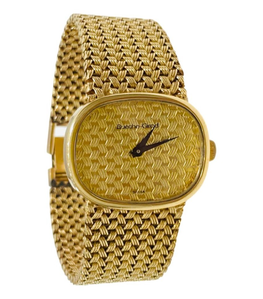 Bueche Girod Solid Gold VIntage Watch