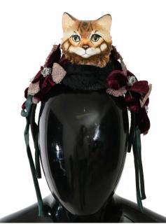 Dolce & Gabbana Bengal Cat embellished diadem/tiara