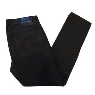 Ralph Lauren Mens Black Classic Jeans