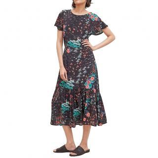 Lily & Lionel Rae Printed Midi Dress