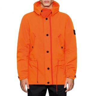 Stone Island Orange David Fluo Jacket