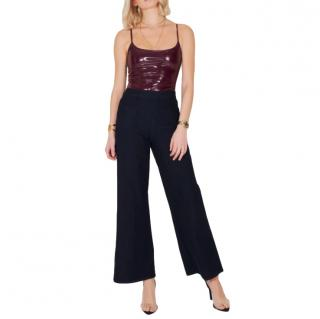 Donna Ida Ruby High Top Pin Tuck Culottes