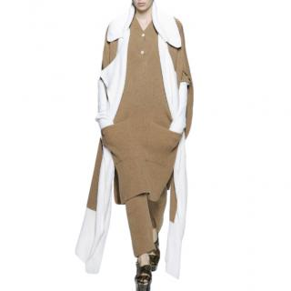 Sonia Rykiel Colourblock Runway Open Cardigan