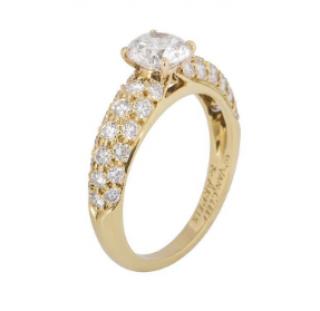 Van Cleef & Arpels Snowflake Diamond Ring
