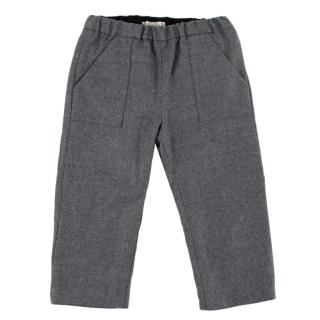 Bonpoint Grey Wool Trousers