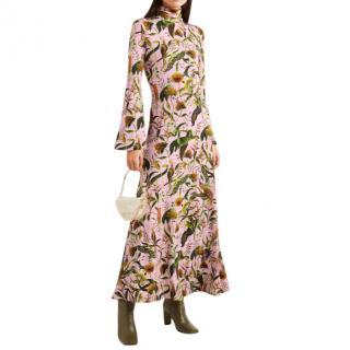 Dodo Bar Or x Annabel's printed stretch-jersey turtleneck maxi dress