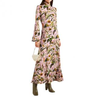 Dodo Bar Or x Annabel's printed stretch-jersey turtleneck maxi dress