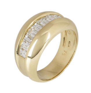 Cartier Yellow Gold Bombe Ring