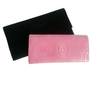 Cartier Pink Vintage Must De Cartier Purse