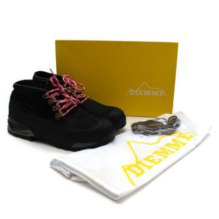 Diemme Black Pony Hair Asiago Ankle Boots