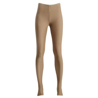 Maison Margiela for H&M Nude Fishnet Print Leggings
