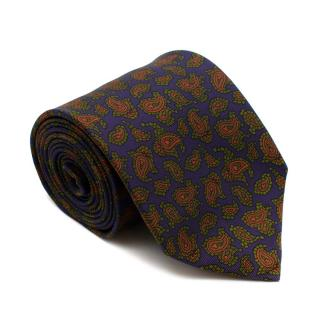 E.G. Cappelli Multi-coloured Paisley Pattern Tie