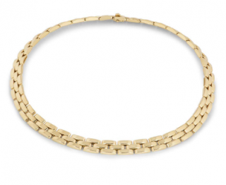 Cartier Yellow Gold Collar Necklace