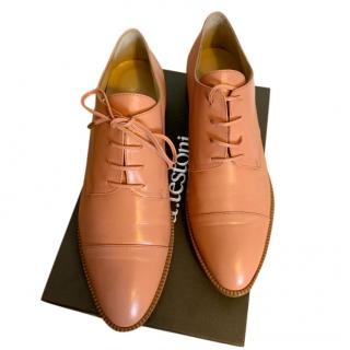 A.Testoni Nappa Leather Derbies