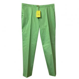 Etro Green Tailored Pants