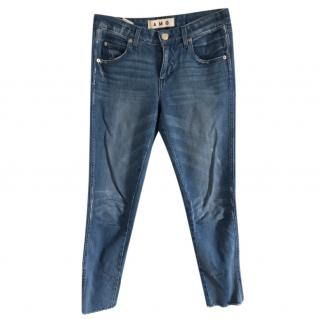 Amo Denim Distressed Cuff Jeans