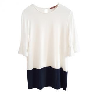 Max Mara Bi-Colour Oversize T-Shirt