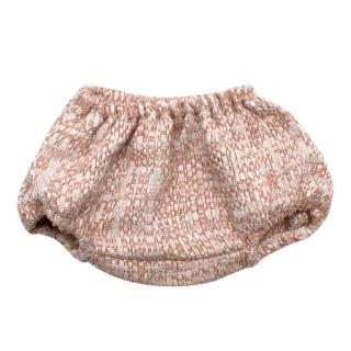 Normandie Pink Cotton Tweed Bloomers