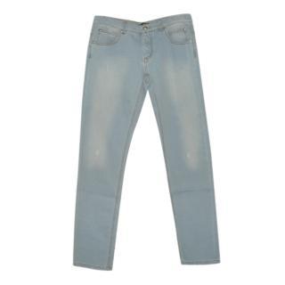 Balmain Girls Pale Denim Classic Jeans