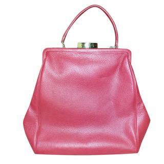 Lulu Guinness Red Eva Top Handle Bag