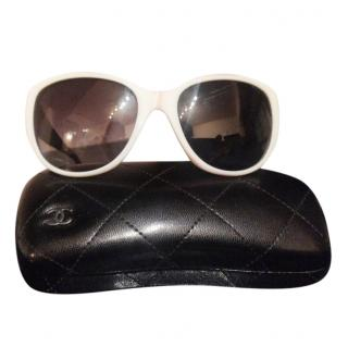 Chanel Black & White Classic Sunglasses
