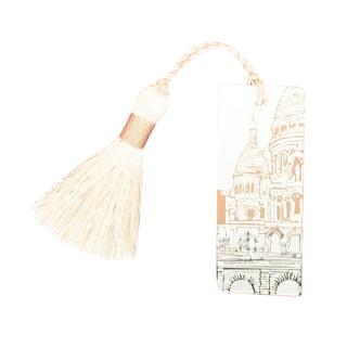 Christofle Silver Plated Monmartre Tassel Bookmark