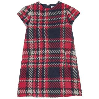 Tartine Et Chocolat Tartan Shift Dress
