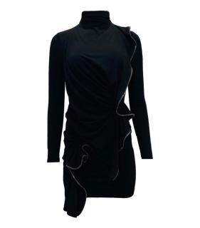 Plein Sud Zipper Ruffle Trim Top & Skirt