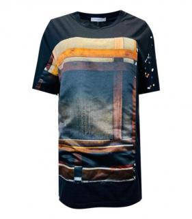 Givenchy Black Abstract Printed T-Shirt