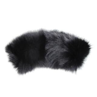 Gerard Darel Black Fox Fur Collar