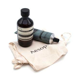 Aesop Geranium Leaf Body Cleanser & Resolute Hydrating Body Balm Set