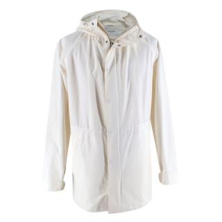 Norse Projects Ivory Hooded Raincoat