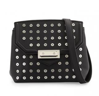 Alexander Wang Marion Leather Crossbody Bag w/Eyelets
