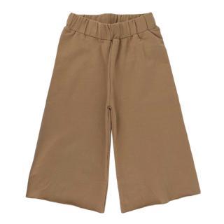 The Simple Folk Camel Wide Leg Fleece Trousers