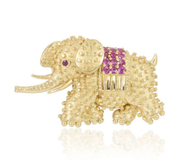 Tiffany & Co. Yellow Gold Pin Brooch
