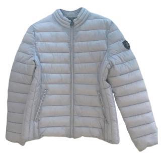 Roberto Cavalli Grey Puffer Jacket