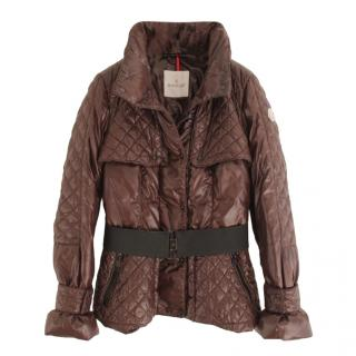 Moncler Brown Kingston Quilted Jacket