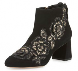 Sophia Webster Embroidered Winona Suede Boots