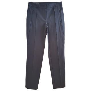 Escada Blue Tailored Pants