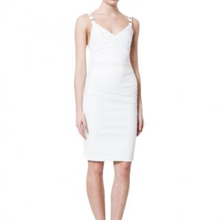 Prreen by Thornton Bregazzi Ivory Audra Fitted Dress
