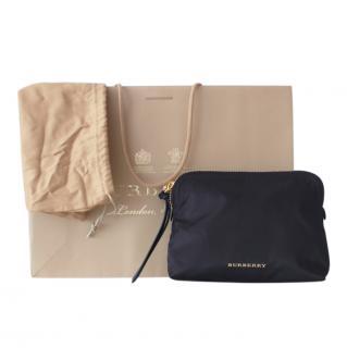 Burberry Nylon Black Cosmetics Bag