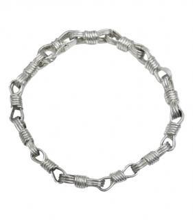Jean Paul Gaultier Vintage Silver Chain Link Bracelet