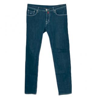 Jacob Cohen Limited Edition Dark Wash 622 Jeans
