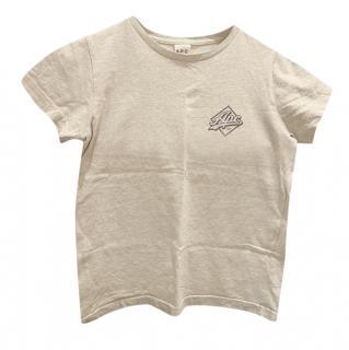 APC Grey Logo Cotton Tee